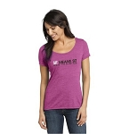 Ladies Swoop Neck T-Shirts
