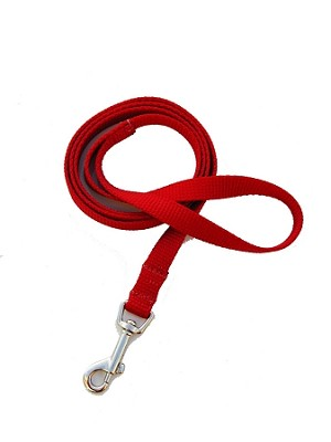 4 foot Leash - Red
