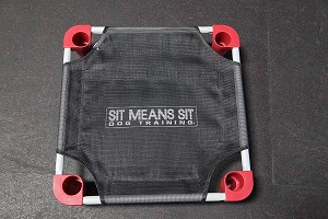 "Sit Means Sit Logo Training Cot 22""x22"" Square"