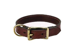 "3/4"" Wide Standard Leather Collar"
