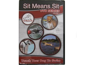 Teaching Your Dog to Swim - Sit Means Sit Dog Training Video DVD