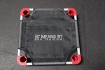 Sit Means Sit Logo Training Cot 22''x22'' Square