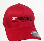 Sit Means Sit Embroidered Cap