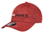 Sit Means Sit Stretch Tech Mesh Cap