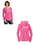 Ladies V-Neck Hoodies